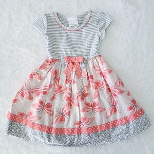 Iris & Ivy-Girls (4Y) Butterfly Dress